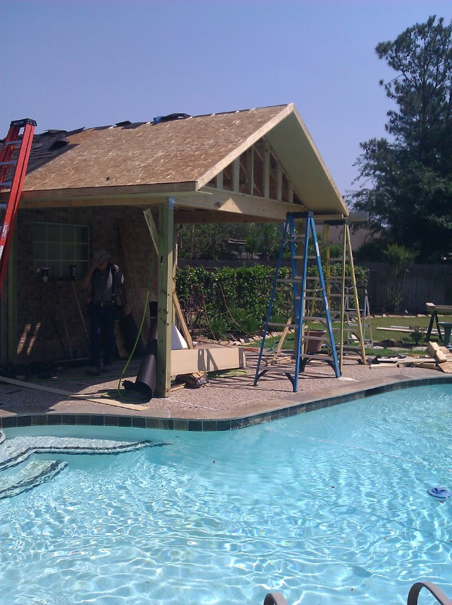 During the construction of your project, we stay conscionable about keeping your pool,property, and work area clean